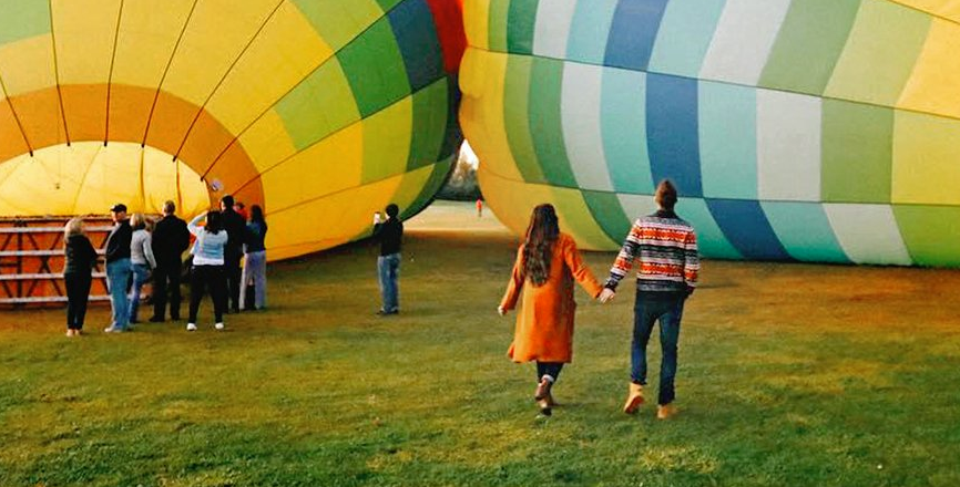 Hot Air Balloon Rides For Two
